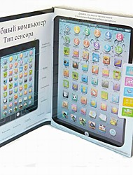 Kid's Russian Educational Ipad Learning Machine Toy (Assorted Color)