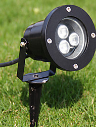 LED Spotlight Flood Light, 3 LEDs, Ip65 Waterproof Die-Casting Aluminum Glass(LEH-86002)