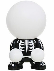 Teamwork Black Skeleton Lamp