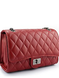 KATE & CO klassische Raute-Muster-Tasche (rot)