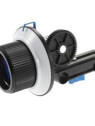 Schwarz Follow Focus Finder F1 für 15mm Rod-Unterstützung DSLR Canon 60D Nikon D3X