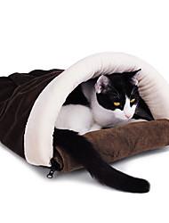Arch-estilo Kitty Adormecida Quente Bolsa acolhedor para Animais Gatos