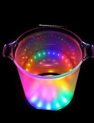 LED Flash Ice Bucket