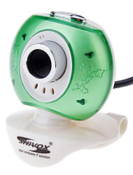 Kanone Stil 2,0-Megapixel-USB-Webcam