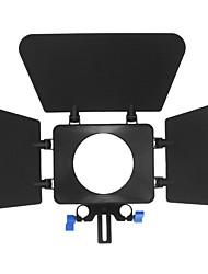 M1 Lens Hood pour DSLR / caméscope (Noir)