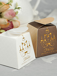 "12 Piece/Set Favor Holder - Creative Paper Favor Boxes ""A New Beginning for the Two of Us"""
