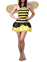 Women Nightwear Striped Others Yellow
