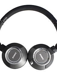 Somic EP-19PRO pliable jeu Over-Ear avec micro et adaptateur pour PC / iPhone / Samsung / HTC / iPad