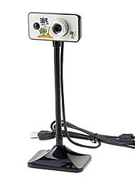 8.0 Megapixels USB 2.0 Clip-on PC Camera Webcam