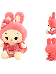 Lovely Large-sized Pink Stuffed Rabbit Puppet