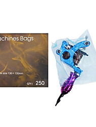 250pcs Disposable Hygiene Tattoo Supply Machine Gun Power Cover Bags Safety
