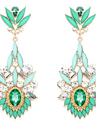Earring Drop Earrings Jewelry Women Wedding / Party / Daily Alloy Green