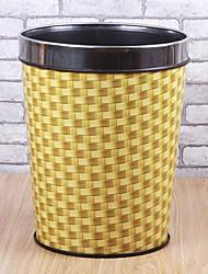 Classique Lattice cylindrique en plastique Bin - 2 couleurs Avaliable