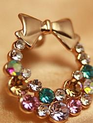 MISS U Multi-Color Bowknot Studs