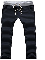 Pantalons épaississent Loisirs sport pour hommes