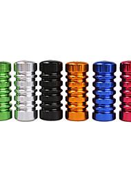 Aleación de aluminio cromática del tubo del apretón apretones de la máquina del arma del tatuaje (color al azar)