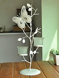 "Wedding Décor ""Butterfly Stop at Branch"" Candle Holder"