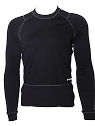 JAGGAD - Cycling Windproof Fleece Long Sleeve Black Bicycle/Bike Jersey