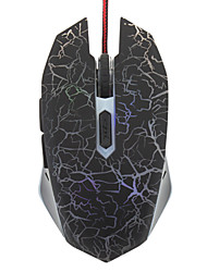 6D Multi-chaves ópticas Wired Gaming Mouse