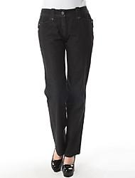 Women's Pants , Cotton/Spandex Casual/Work YOLUK