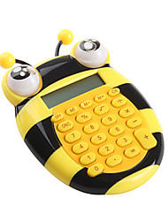 Lovely Cartoon Bee Mini Calculator (Yellow)