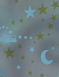 Cartoon Dreamlike Starry Sky Window Film