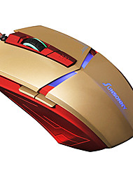 Optical High-speed Ergonomic Design Game Wired USB Mouse