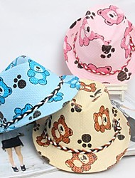 Kid's Cute Bear Prints Jazz Cap