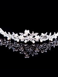 Women's Alloy Headpiece - Wedding/Special Occasion/Outdoor Tiaras