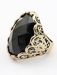 MISS U Black Diamond Ring