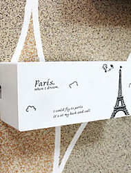 Fashion Paris Tower Plastic Electric Wire Storage Box