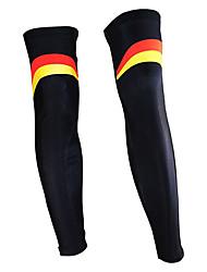 KOOPLUS - German National Team Polyester+Lycra Black Cycling Leg Warmer