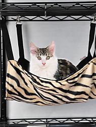 cebra de moda o leopardo cama patrón para mascotas perros (colores surtidos)