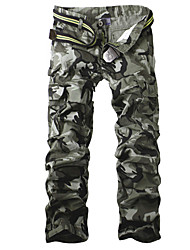 Aowofs Multi-Pocket Men'S Fashion Camouflage Pants Casual Overalls (Screen Color)