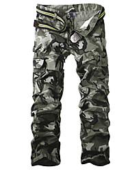 Брюки Aowofs мужские камуфляжные с карманами