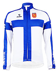 Kooplus - Finnish National Team Cycling Long Sleeve Fleece Jersey