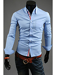 Ruban ornement Concise shirt hommes