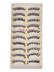 Transparent Base Hand-made False Eyelashes E-7