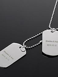 la courbe de cadeaux personnalisés femmes gravé collier (moins de 10 caractères)