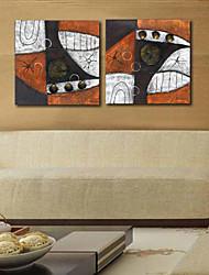 Impressão em tela esticada Abstract Art rolamento Conjunto de 2