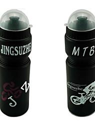 650ml MTB PVC Mountain Bike garrafa de água com tampa Dustproof