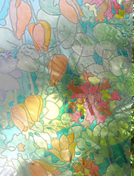 Colorful Fantaisie Euro Fleurs Window Film