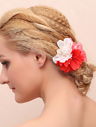 Women's Fabric Headpiece - Special Occasion/Casual Flowers