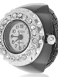 Women's Diamond Case Alloy Quartz Analog Ring Watch (Assorted Colors) Cool Watches Unique Watches