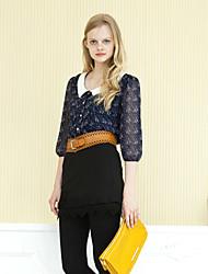 Women's Pants , Knitwear/Lace/Others/Spandex GOELIA