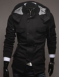 Men's Pure Color Casual Coat