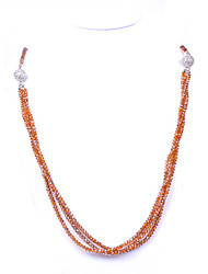 CUISHANG Elegant Glass Beads Necklace