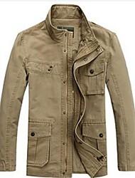 Men's Long Sleeve Jacket , Denim Pure