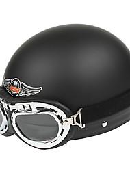матовый материал ABS мотоцикл половина шлем (опционные цветы)