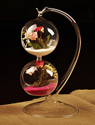 Table Centerpieces Hanging Calabash Shaped Glass Vase  Table Deocrations
